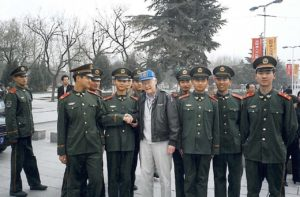 Jim Nordlie with Chinese Officials