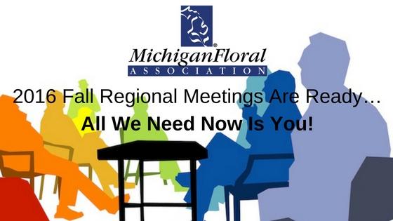2016 Fall Regional Meetings