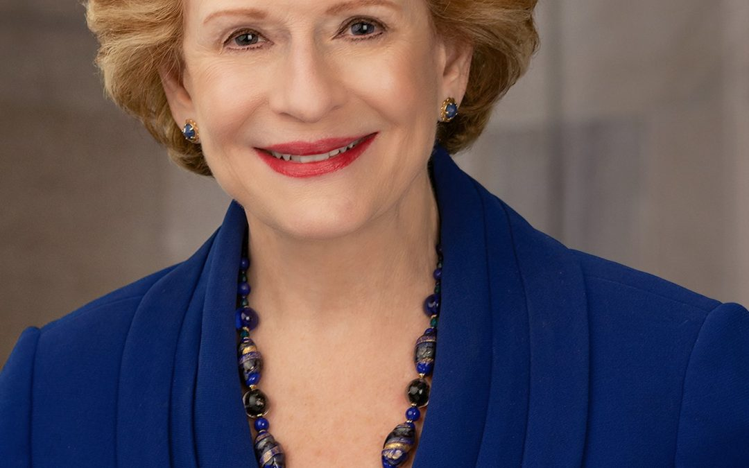 Michigan Floral Foundation Announces Senator Debbie Stabenow as 2019 Hall of Fame Inductee.