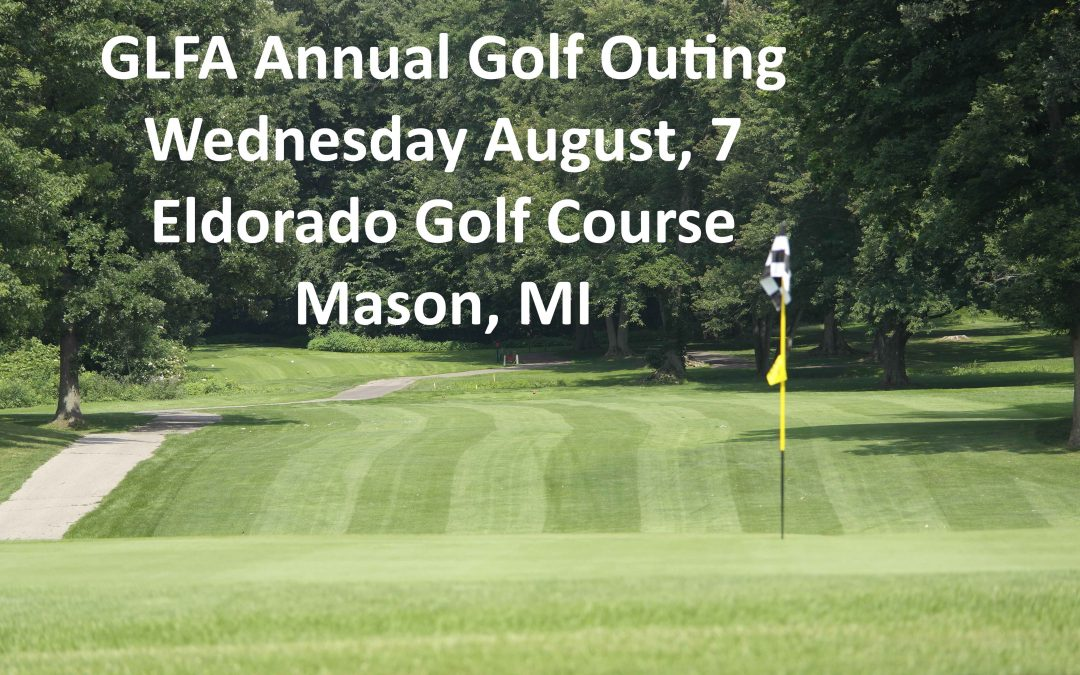 Annual Golf Outing Wednesday, August 7, 2019