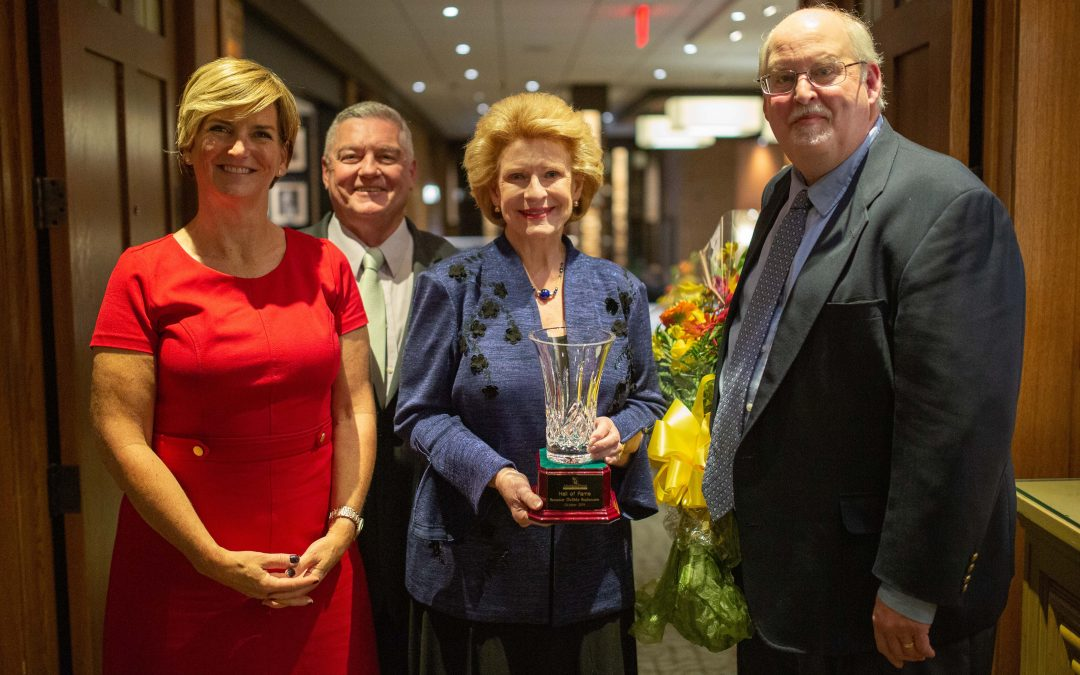 Floral Industry and Government Dignitaries Honor Michigan Senator Debbie Stabenow